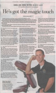 Mike Law article